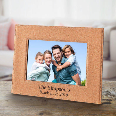 Personalized Cork Picture Frame -  - JDS
