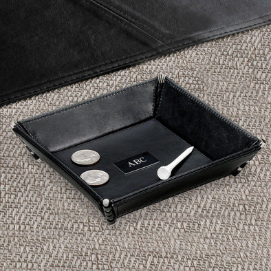 Personalized Leather Stash Tray -  - JDS