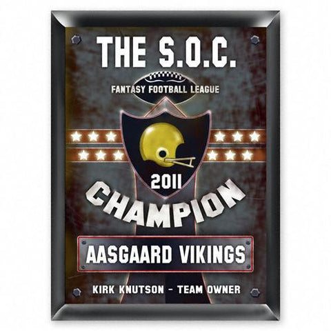 Personalized Traditional Pub Sign - Fantasy Football -