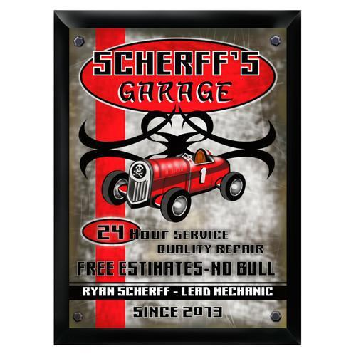 Personalized Traditional Bar Signs - Personalized Pub Signs - Garage - JDS