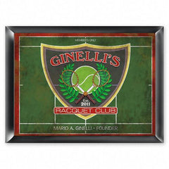 Personalized Traditional Bar Signs - Personalized Pub Signs - RacquetClub