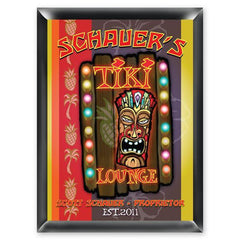 Personalized Traditional Bar Signs - Personalized Pub Signs - Tiki