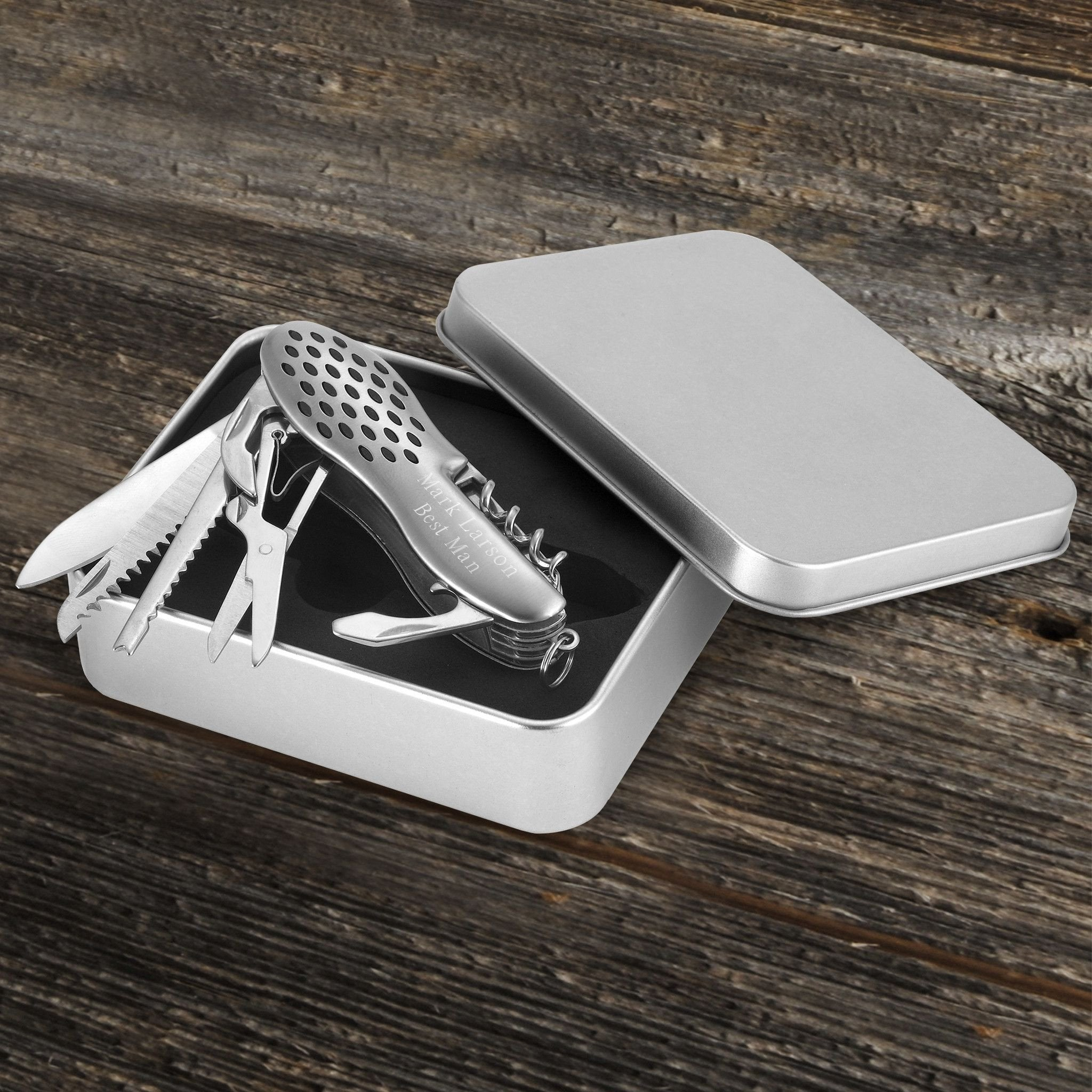 Personalized 13 Function Swiss Army Knife