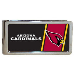Personalized Money Clip - NFL Team Money Clips - Cardinals - Professional Sports Gifts - AGiftPersonalized