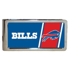 Personalized Money Clip - NFL Team Money Clips - Bills - Professional Sports Gifts - AGiftPersonalized