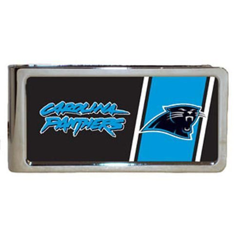 Personalized Money Clip - NFL Team Money Clips - Panthers - Professional Sports Gifts - AGiftPersonalized
