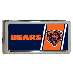Personalized Money Clip - NFL Team Money Clips - Bears - Professional Sports Gifts - AGiftPersonalized