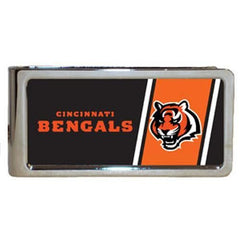 Personalized Money Clip - NFL Team Money Clips - Bengals - Professional Sports Gifts - AGiftPersonalized