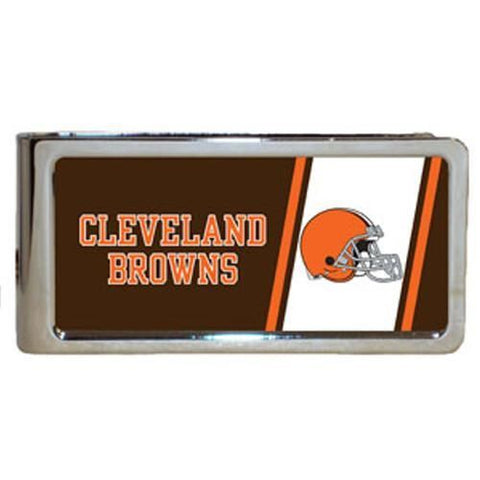 Personalized Money Clip - NFL Team Money Clips - Browns - Professional Sports Gifts - AGiftPersonalized