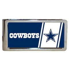 Personalized Money Clip - NFL Team Money Clips - Cowboys - Professional Sports Gifts - AGiftPersonalized