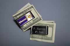 Personalized Old NFL Money Clip -