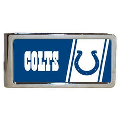 Personalized Money Clip - NFL Team Money Clips - Colts - Professional Sports Gifts - AGiftPersonalized