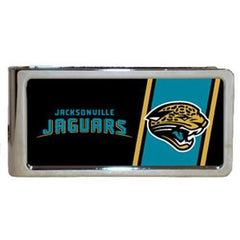 Personalized Money Clip - NFL Team Money Clips - Jaguars - Professional Sports Gifts - AGiftPersonalized