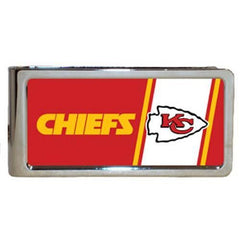 Personalized Money Clip - NFL Team Money Clips - Chiefs - Professional Sports Gifts - AGiftPersonalized