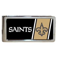 Personalized Money Clip - NFL Team Money Clips - Saints - Professional Sports Gifts - AGiftPersonalized