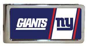 Personalized Money Clip - NFL Team Money Clips - Giants - Professional Sports Gifts - AGiftPersonalized