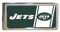Personalized Money Clip - NFL Team Money Clips - Jets