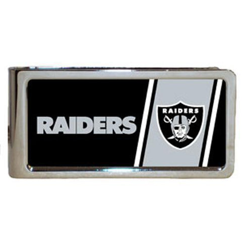 Personalized Money Clip - NFL Team Money Clips - Raiders