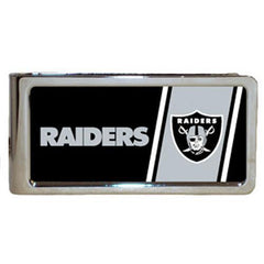Personalized Money Clip - NFL Team Money Clips - Raiders - Professional Sports Gifts - AGiftPersonalized
