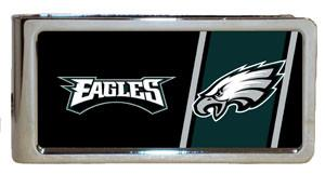 Personalized Money Clip - NFL Team Money Clips - Eagles