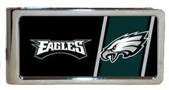 Personalized Money Clip - NFL Team Money Clips - Eagles - Professional Sports Gifts - AGiftPersonalized