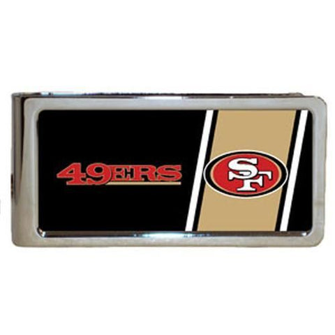 Personalized Money Clip - NFL Team Money Clips - 49ers - Professional Sports Gifts - AGiftPersonalized