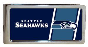 Personalized Money Clip - NFL Team Money Clips - Seahawks - Professional Sports Gifts - AGiftPersonalized