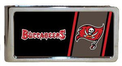 Personalized Money Clip - NFL Team Money Clips - Buccaneers - Professional Sports Gifts - AGiftPersonalized