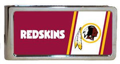 Personalized Money Clip - NFL Team Money Clips - Redskins - Professional Sports Gifts - AGiftPersonalized