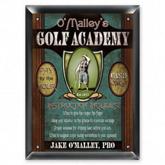Personalized Signs - Golf Academy - Executive Gifts