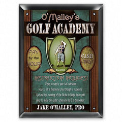 Personalized Signs - Golf Academy - Executive Gifts -  - Golf Gifts - AGiftPersonalized