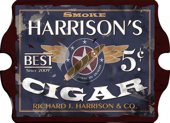 Personalized Vintage Series Pub Sign - Patriot