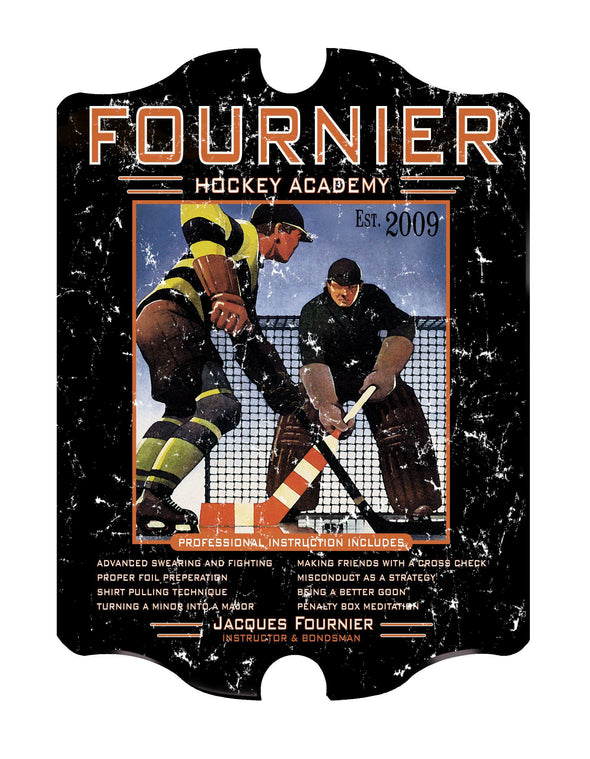 Personalized Vintage Series Pub Sign - HockeyAcademy - JDS