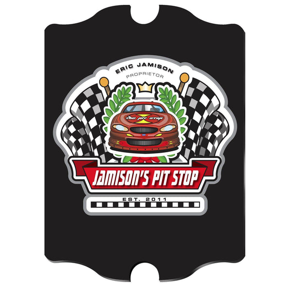 Personalized Vintage Series Pub Sign - Racing - JDS