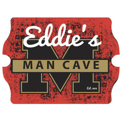 Personalized Vintage Series Sign - StadiumManCave - Man Cave Gifts - AGiftPersonalized