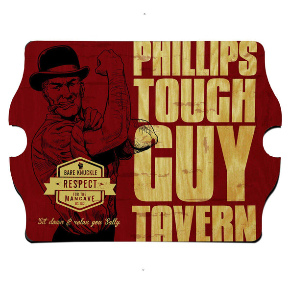Personalized Vintage Series Pub Sign - Toughguy
