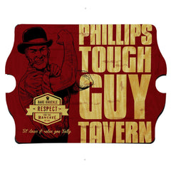 Personalized Vintage Series Sign - Toughguy - Man Cave Gifts - AGiftPersonalized