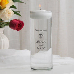 Personalized Floating Unity Candle - A1Classic - Candles - AGiftPersonalized