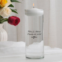 Personalized Floating Unity Candle - C3Devonshire - Candles - AGiftPersonalized