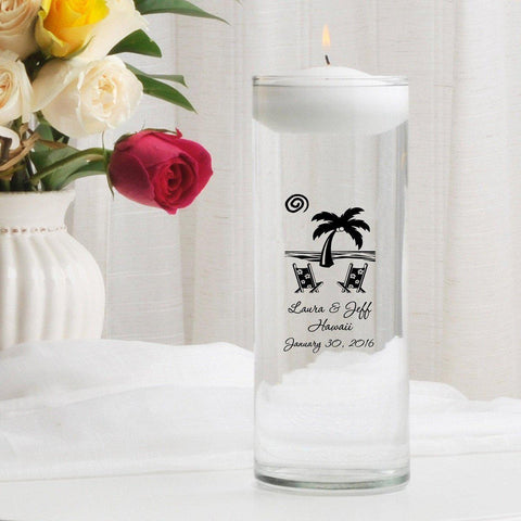 Personalized Floating Unity Candle - D1Destination - Candles - AGiftPersonalized