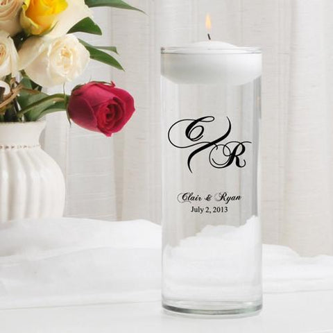 Personalized Floating Unity Candle - MG3Marquis - Candles - AGiftPersonalized