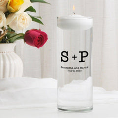 Personalized Floating Unity Candle - MG6Typeset - Candles - AGiftPersonalized
