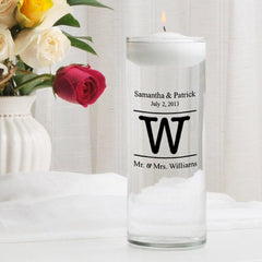 Personalized Floating Unity Candle - MG8Alexander - Candles - AGiftPersonalized