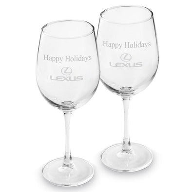 Personalized Corporate Wine Glasses - 19 oz. -  - JDS