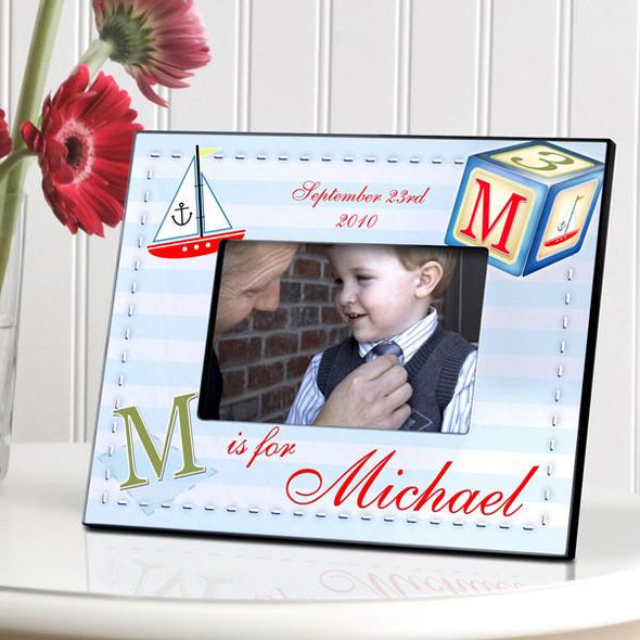 Personalized Children's Picture Frames - Sailor Boy -  - JDS
