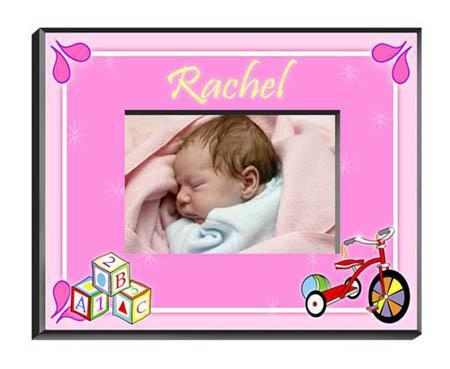 Personalized Little Girls Collection Picture Frames - All - Blocksgirl - JDS