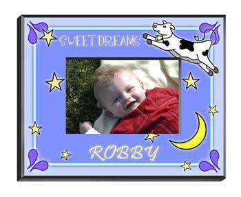 Personalized Little Boys Picture Frames - All - CowMoonBoy - JDS