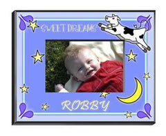 Personalized Little Boy Children's Picture Frames - All - CowMoonBoy - Frames - AGiftPersonalized