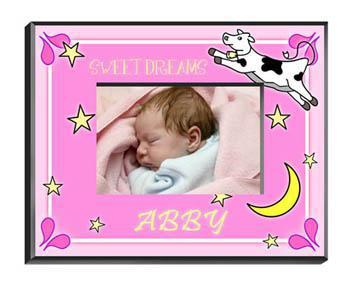 Personalized Little Girls Collection Picture Frames - All - Cowmoongirl - JDS