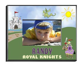 Personalized Little Boys Picture Frames - All - Knight - JDS